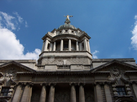 Big scary justice… Old Bailey photograph courtesy of Flickr user Loz Flowers / Creative Commons Licensed