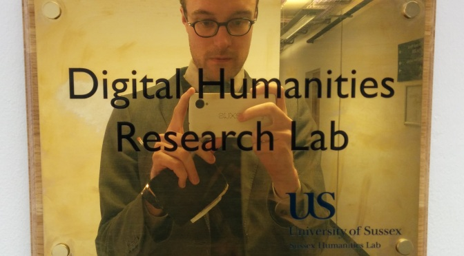 Inside Sussex Humanities Lab