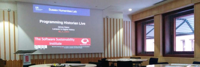 Programming Historian Live